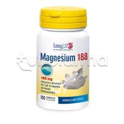Longlife Magnesium 188 Integratore di Magnesio 100 Compresse