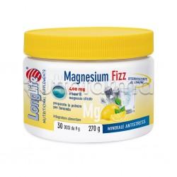 Longlife Magnesium Fizz Integratore di Magnesio Effervescente 270g