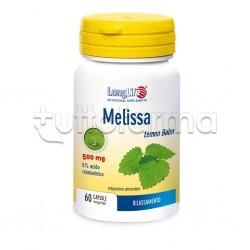 Longlife Melissa Integratore Rilassante 60 Capsule