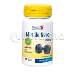 Longlife Mirtillo Nero Integratore per Vista e Microcircolo 60 Capsule