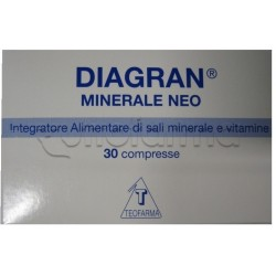 Diagran Minerale Neo Integratore Multivitaminco 30 Compresse