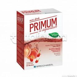 Specchiasol Primum Depurativo Mini Drink 20 Bustine Liquide Gusto Pesca e Goji