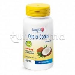 Longlife Olio di Cocco Bio Integratore per la Pelle 60 Perle
