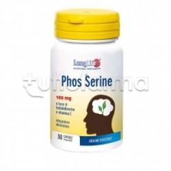 Longlife Phos Serine Integratore Antiossidante 30 Capsule