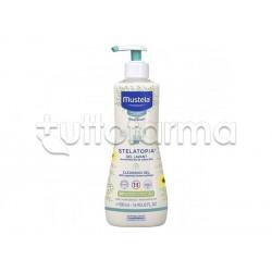 Mustela Stelatopia Gel Detergente per Pelle Secca 500ml