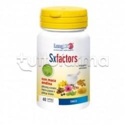 Longlife SxFactors Integratore Tonico 60 Capsule