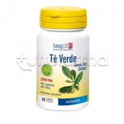Longlife Tè Verde Integratore Antiossidante 60 Capsule
