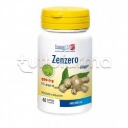 Longlife Zenzero Integratore Digestivo 60 Capsule