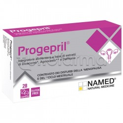 Named Progepril Integratore per Menopausa e Ciclo Mestruale 28 Compresse