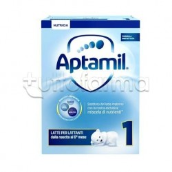 Mellin Aptamil 1 Latte in Polvere per Lattanti da 0 a 6 Mesi 750g