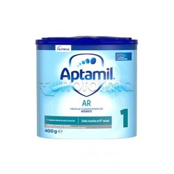 Mellin Aptamil AR 1 Latte in Polvere Antirigurgito per Lattanti 0-6 Mesi 400g