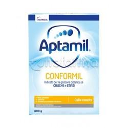 Mellin Aptamil Conformil Latte in Polvere per Coliche dei Lattanti 0-6 Mesi 600g