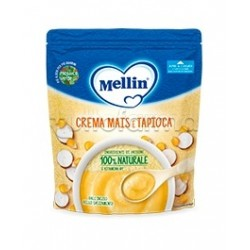 Mellin Crema di Mais e Tapioca per Bambini dai 4 Mesi 200g