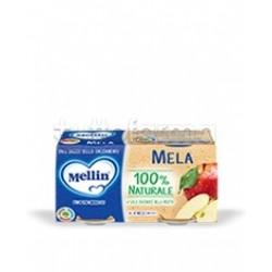Mellin Omogeneizzato Mela 2 Confezioni da 100g