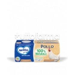 Mellin Omogeneizzato Pollo 2 Confezioni da 80g