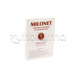 Milonet Bromatech Per Equilibrio della Flora Intestinale 12 capsule