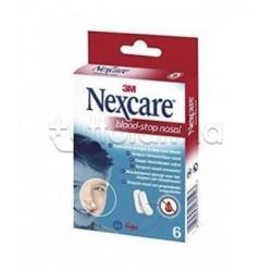 Nexcare Blood Stop Nasal Tamponi Nasali 6 Pezzi