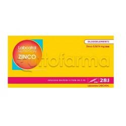 IMO Labcatal Nutrition Zinco/Rame Oligoelementi 28 Fiale da 2ml