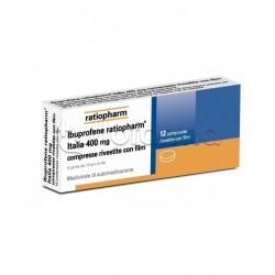 Ibuprofene Ratipharma 12 Compresse Rivestite 400 mg (Equivalente MomentAct)