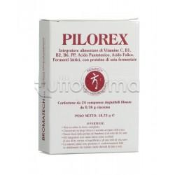 Pilorex Bromatech Integratore per la Funzionalità Gastrica 24 Capsule