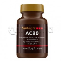 AC80 Integratore con Vitamina C 60 Capsule