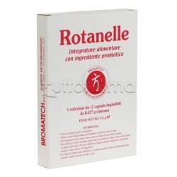 Rotanelle Bromatech Integratore con Probiotici 12 Capsule
