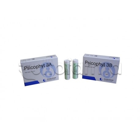 Biogroup Psicophyt Remedy 3 A Rimedio Tonico per Stress 4 Tubi di Globuli