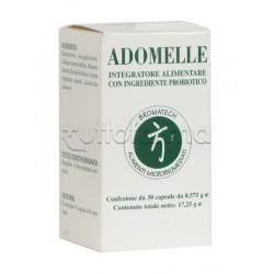 Adomelle Bromatech Integratore Alimentare con Probiotici 30 Capsule