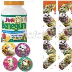Benegum Junior Vitamina B Caramelle Vitaminiche per Bambini con Gadget in Omaggio 150g