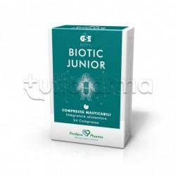 GSE Biotic Junior Integratore per Difese Immunitarie dei Bambini 24 Compresse