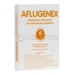 Aflugenex Bromatech Integratore 12 Capsule