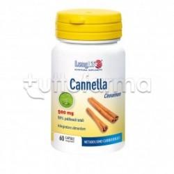 Longlife Cannella Integratore per Digestione 60 Capsule