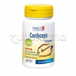 Longlife Cordyceps Bio Integratore per Sostegno Metabolico 60 Capsule