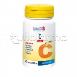 Longlife C Powder Integratore di Vitamina C 75g