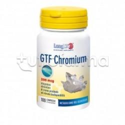 Longlife GTF Chromium Integratore per Metabolismo dei Carboidrati 100 Compresse