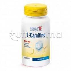 Longlife L-Carnitine Integratore per Metabolismo dei Lipidi 60 Capsule