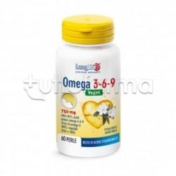 Longlife Omega 3-6-9 Integratore con Acidi Grassi 60 Perle
