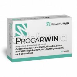 Pharmawin Procarwin Integratore per Benessere Intestinale 36 Capsule