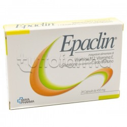 Epaclin Integratore Antiossidante 24 Capsule