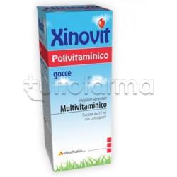 Xinovit Polivitaminico Integratore Multivitaminico Gocce 12ml