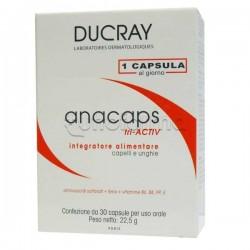 Ducray Anacaps Triactiv Integratore Rinforzante Unghie e Capelli 30 Capsule