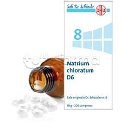 Sale Dr. Schüssler N. 8 Natrium Chloratum D6 Omeopatico 200 Compresse