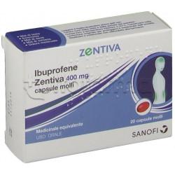 Ibuprofene Zentiva Antinfiammatorio 20 Capsule Molli 400mg (Equivalente Momentact)