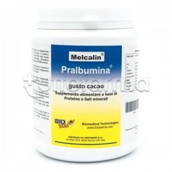 Melcalin Pralbumina Gusto Cacao Integratore con Proteine e Minerali 532g