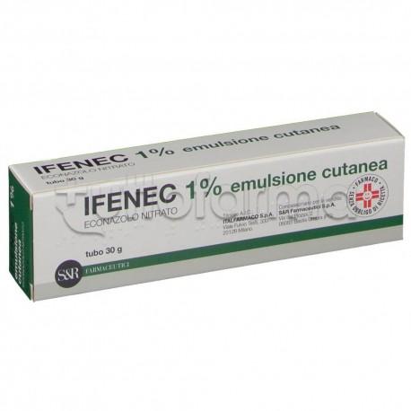 Ifenec Emulsione Cutanea Antimicotica per Funghi 30 gr 1%