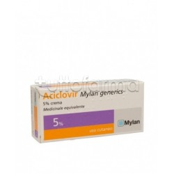 Aciclovir Mylan Generics Crema 3 Grammi 5% per Herpes