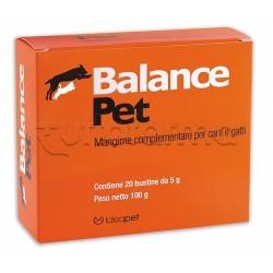 Balance Pet Integratore Veterinario Reidratante Isotonico per Cani e Gatti 30 Bustine
