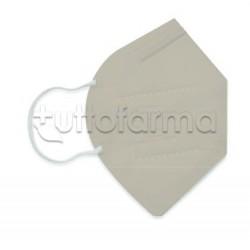 Mascherina Respiratoria Filtrante FFP2 Made in Italy Certificata CE Colore Beige 1 Mascherina