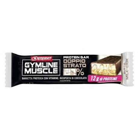 Enervit Gymline Barretta Milk 27% Barrette Proteiche 45g