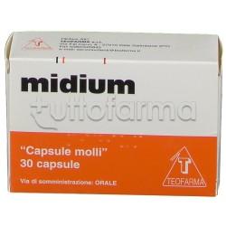 Midium con Vitamina A e Vitamina E 30 Capsule